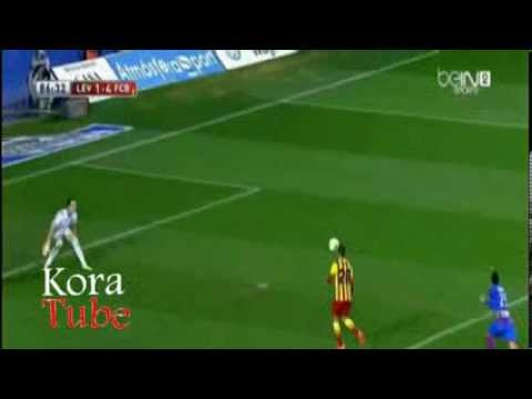 Levante 1 - 4 Barcelona (22.1.2014) All Goals & Highlights FULL [HD]