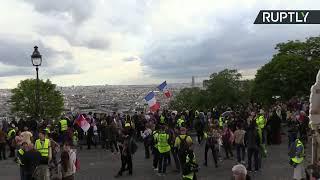 «Жёлтые жилеты» в 27-й раз вышли на акцию протеста в Париже