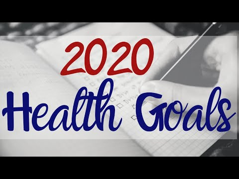 2020 Health Goals Your One Thing.