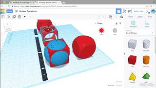 Creating a dice shape | Learning Tinkercad from LinkedIn Learning