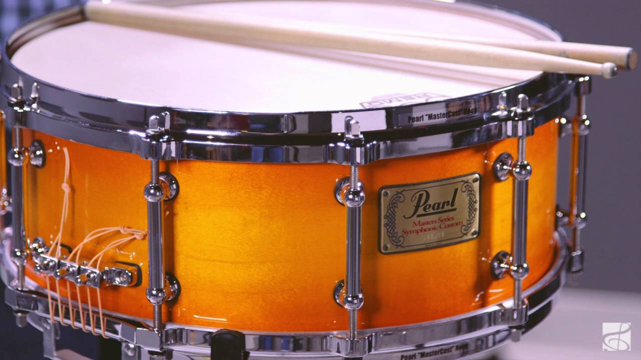 pearl symphonic snare drum youtube. Black Bedroom Furniture Sets. Home Design Ideas