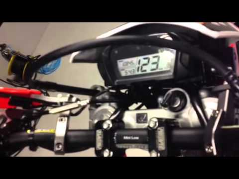 Dyno Test topspeed CRF250L - YouTube