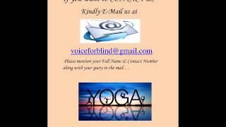 An article on Yoga (By Anita Sharma)