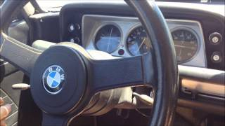 1968 BMW 1600 with M42 engine #1 start and drive
