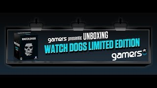 Unboxing Watch Dogs Limited Edition