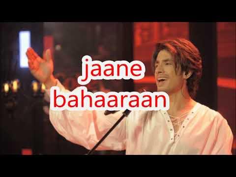 ali zafar Jaan e Baharaan lyrics