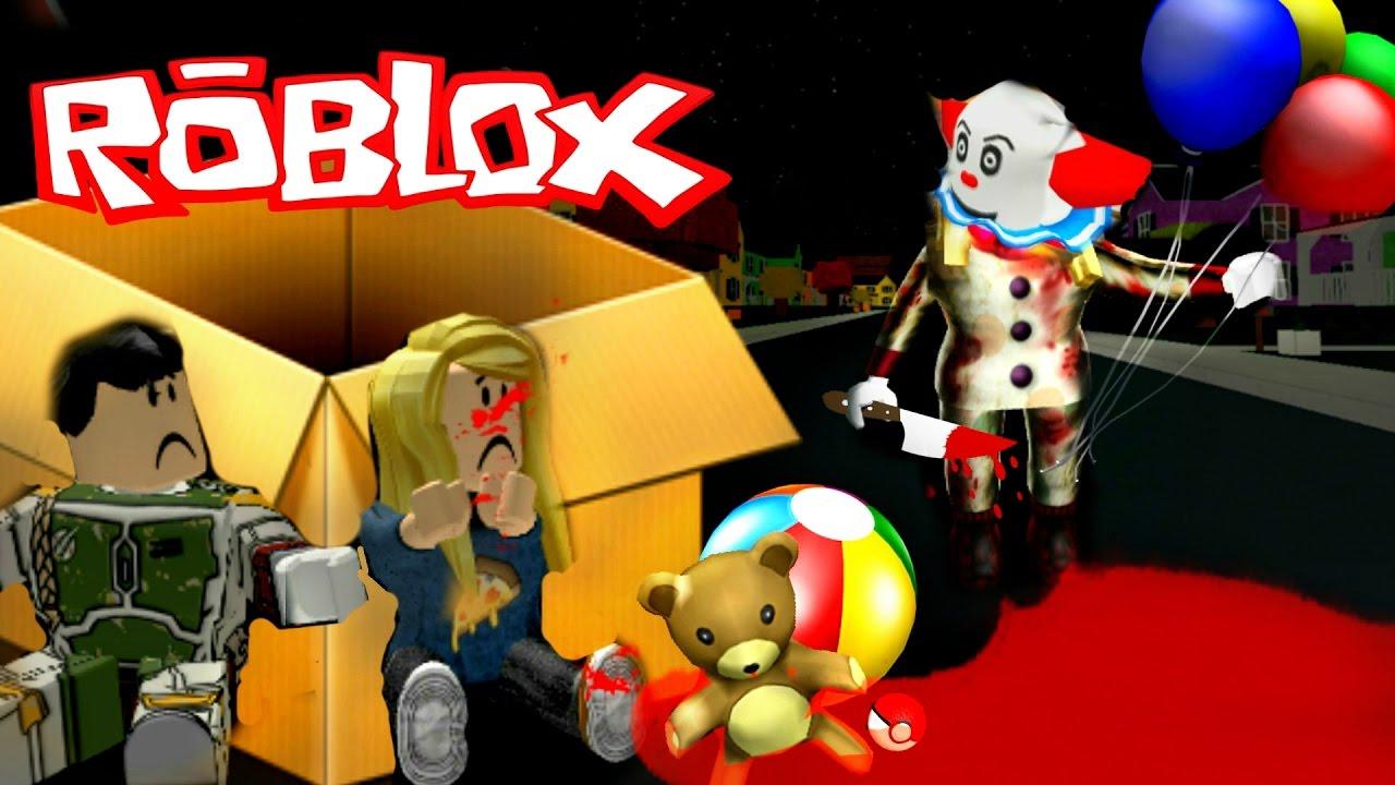 Beware Of It The Spooky Clown In Roblox