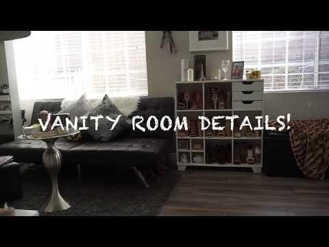 VANITY ROOM DETAILS!