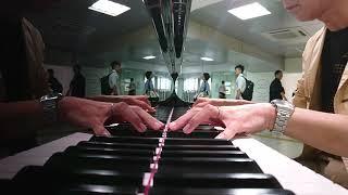 浜松駅で弾いてみた ホイットニーヒューストン 私には何も無い