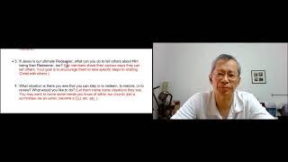 Pr Andrew's Sharing on Ruth - 13 June 2021