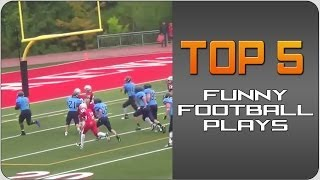 #Top5 Funny Football Plays | JukinVideo Top Five