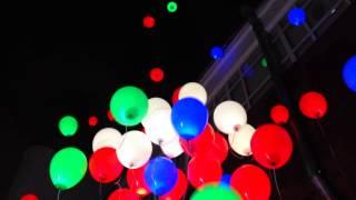 видео светодиодные шары на свадьбу фото
