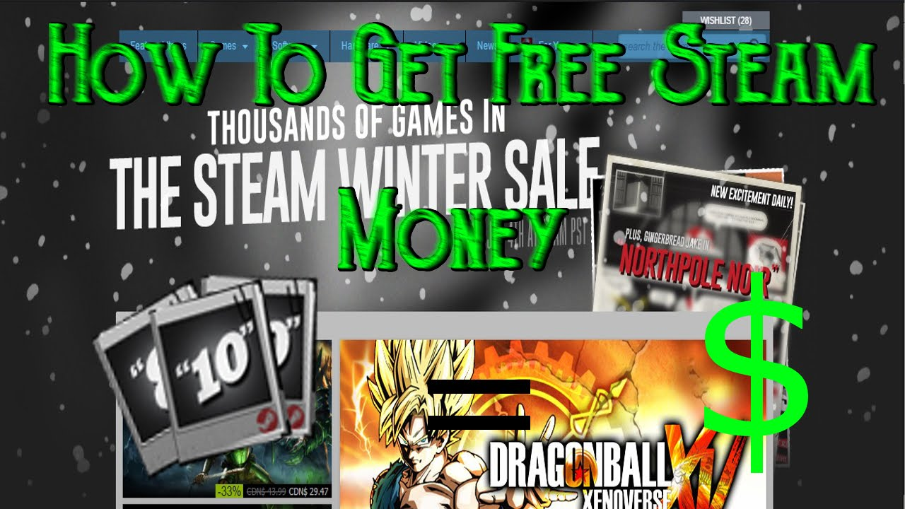 how to add money to steam with steam card