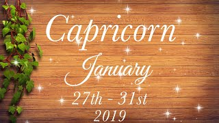 Baixar CAPRICORN WEEKLY JAN 27th - 31st | THEY SEE POTENTIAL FOR COMMITMENT - Capricorn Tarot Love Reading