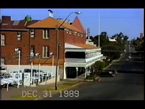 VIDEO 087, Journey Around the World 76,  Broken Hill to Port Agusta, 31  Dec 1989