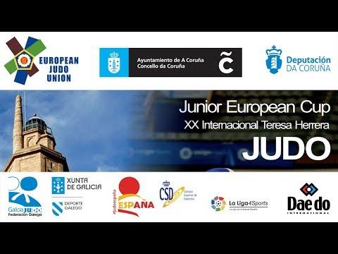Junior European Judo Cup La Coruna 2018 - Day 1 - Mat 1