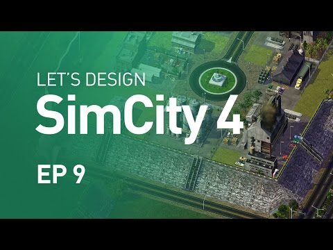 Let's Design SimCity 4 — EP9 — Gated Industrial Area