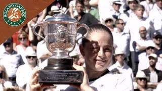 French Open Emotions - Jelena Ostapenko wins the tournament   Roland-Garros 2017