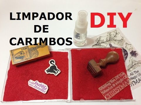 Limpador de Carimbos (Stamp Cleaner) - DIY - VIDEO