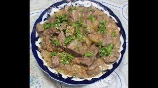 КАК ВКУСНО И ПРАВИЛЬНО ПРИГОТОВИТ ПЕЧЕНЬ#MAZZALI JIGAR TAYORLASH SIRI#Delicious to cook beef liver