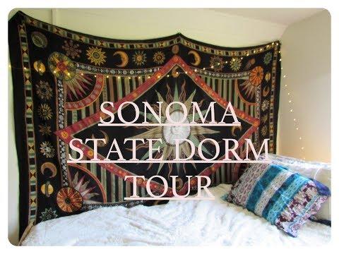 Sonoma State Dorm Tour