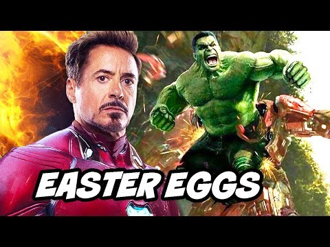 Avengers Endgame Easter Eggs and Scenes Breakdown Part 1
