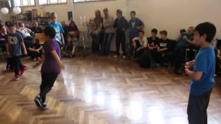 BATTLE DROID TV - Kian & Faisi Vs Ches-Lee & Zash - DANCE DUST 2013