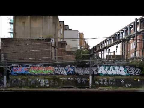 Graffiti Bombing Trackside 2014 London Youtube