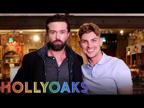 Hollyoaks Pride: Kieron reunites with Emmett