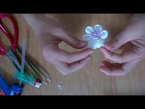 Hướng dẫn làm hoa ruy-băng đơn giản nhất (Ai cũng có thể làm)