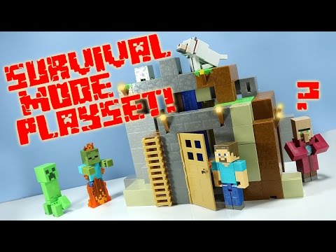 Thumbnail: Minecraft Survival Mode Playset from Mattel Toys Huge!