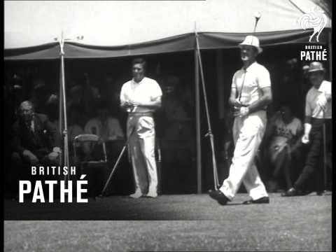 Australia's East Win In Canada Cup - Won By Kel Nagle And Peter Thomson (1950-1959)