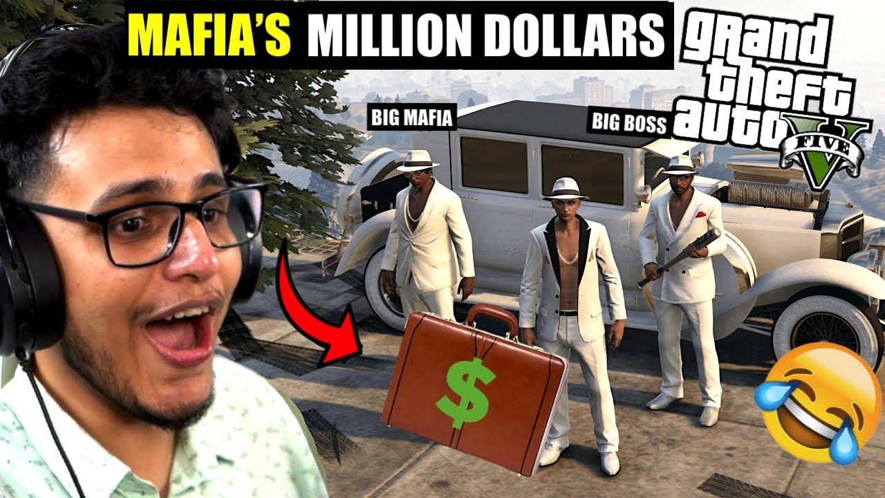 Stealing Mafia's MILLION Dollars in GTA 5