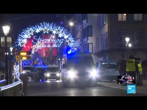 Strasbourg shooting: Suspect on the run after three killed in terror attack