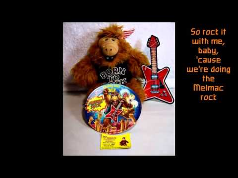 Alf - Melmac Rock (with lyrics)