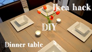 Diy Faux Barnwood Ikea Table