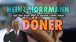 Heinz Horrmann isst das erste Mal einen Döner