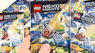 LEGO Nexo Knights Blind Bags Opening! 30 Nexo Powers!