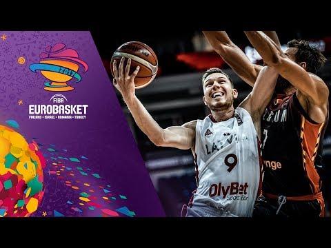 Latvia v Belgium - Highlights - FIBA EuroBasket 2017