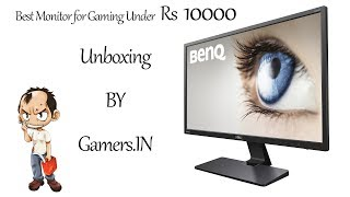 BENQ GW2470H Monitor Unboxing 2017| INDIA