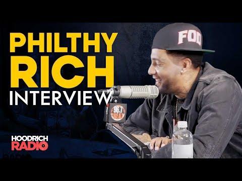 DJ Scream - Philthy Rich Hoodrich Radio Interview with DJ Scream