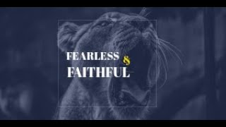 Fearless & Faithful: The Cornerstone, Day 1
