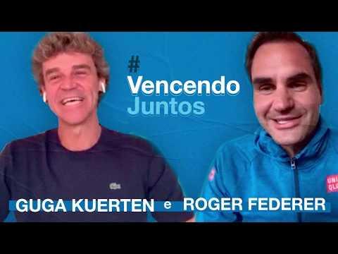 Além Das Quadras: Guga Kuerten E Roger Federer