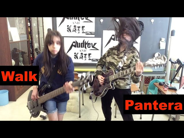 #Pantera - #Walk - guitar + bass -  cover #パンテラ