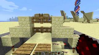 #minecraft Double Fence Gate Door [tutorial] - Update 1.1