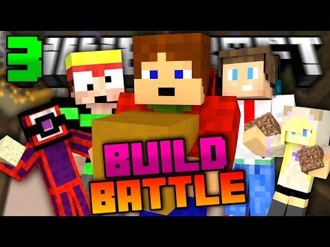 Minecraft: BUILD BATTLE   BYLO NÁS 5!   #3 w/ Kea,Kiki,Oly,Froster [Porty]