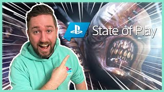 Resident Evil 3 Remake! PlayStation State of Play - Kinda Funny Live Reactions