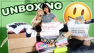 HUGE UNBOXING OF STUFF YOU GUYS SENT ME!
