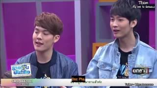 [Eng sub] 051017 'Daily Entertainment' TV show (2MoonsTheSeries-Thai BL series)