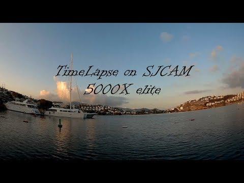 TimeLapse on SJCAM 5000+ elite. Bodrum, Turkey.